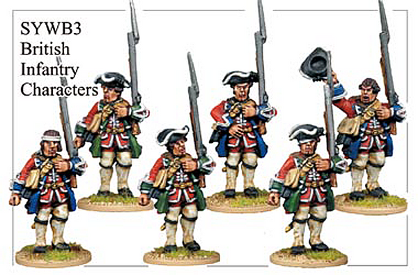 SYWB003 - British Infantry Characters