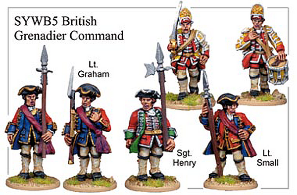 SYWB005 - British Grenadier Command