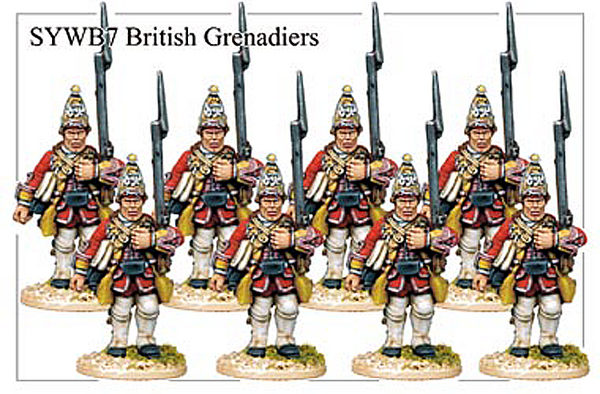 SYWB007 - British Grenadiers Advancing