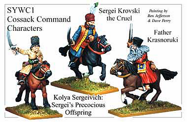 SYWC001 - Cossack Command And Characters
