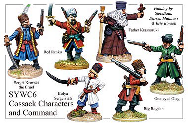 SYWC006 - Cossack Command And Characters