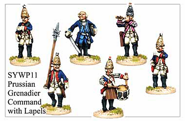 SYWP011 - Prussian Grenadier With Lapels Command