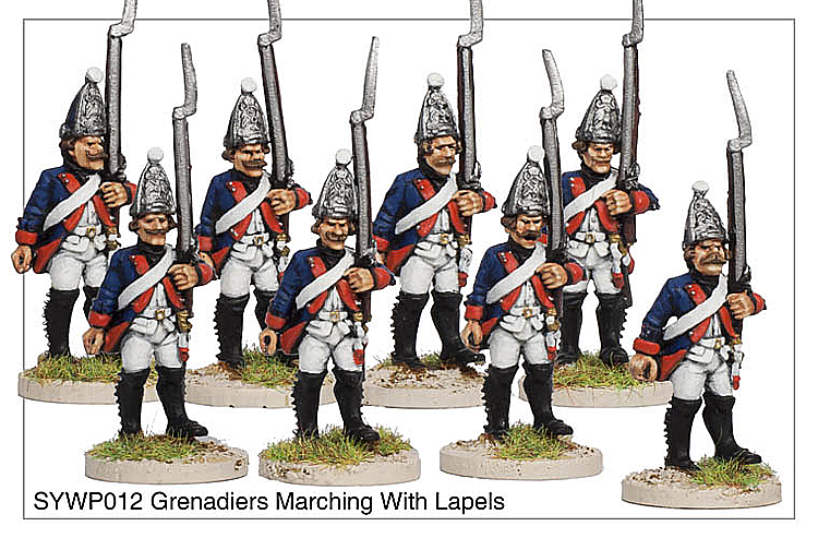 SYWP012 - Grenadiers Marching With Lapels