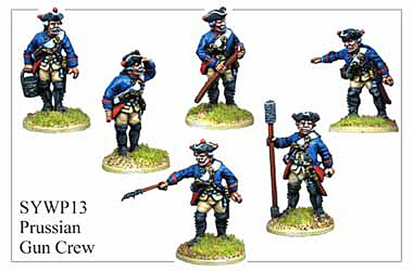 SYWP013 - Prussian Artillery Crew