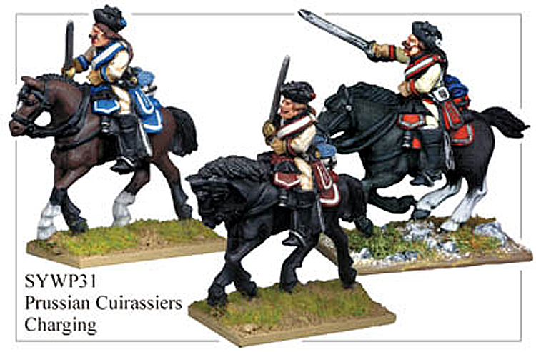 SYWP031 - Prussian Cuirassiers Charging