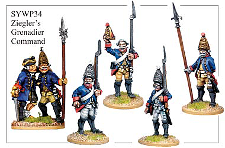 SYWP034 - Prussian Grenadiers No Lapels Command