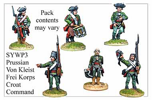 SYWP003 - Prussian Von Kleists Croat Freikorps Command