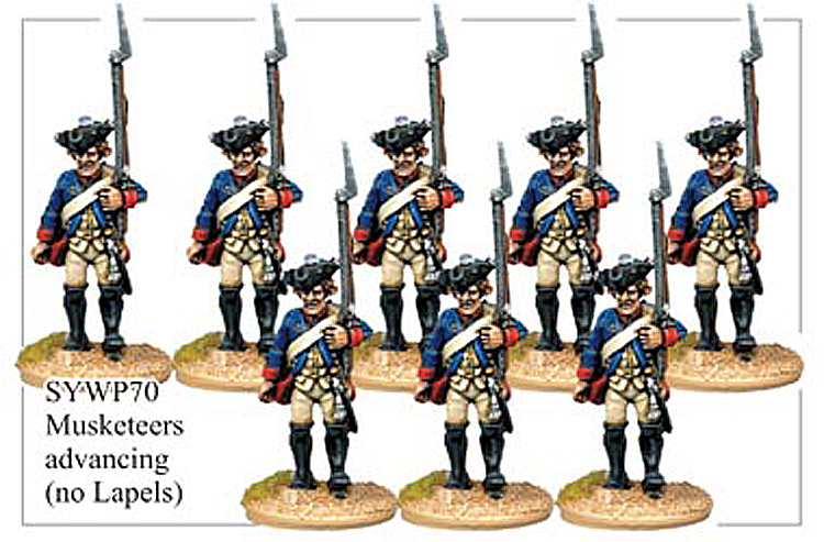 SYWP070 - Prussian Musketeers No Lapels