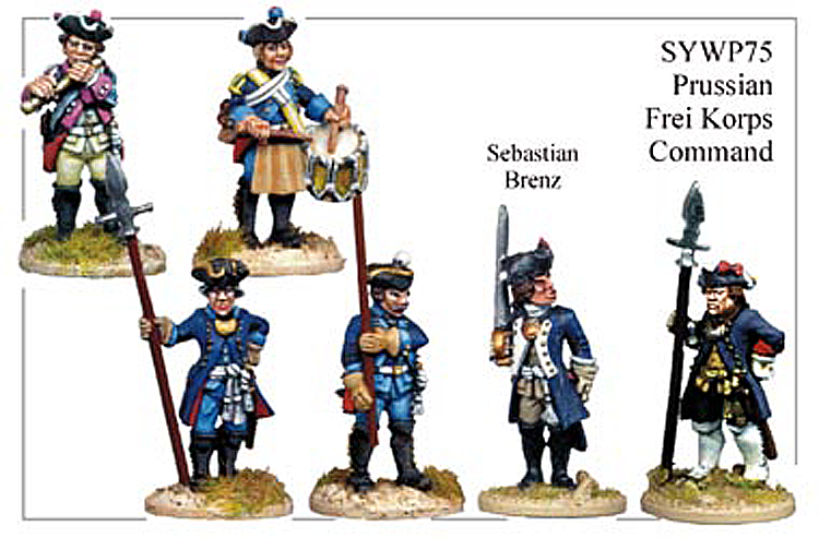 SYWP075 - Prussian Frei Korps Command