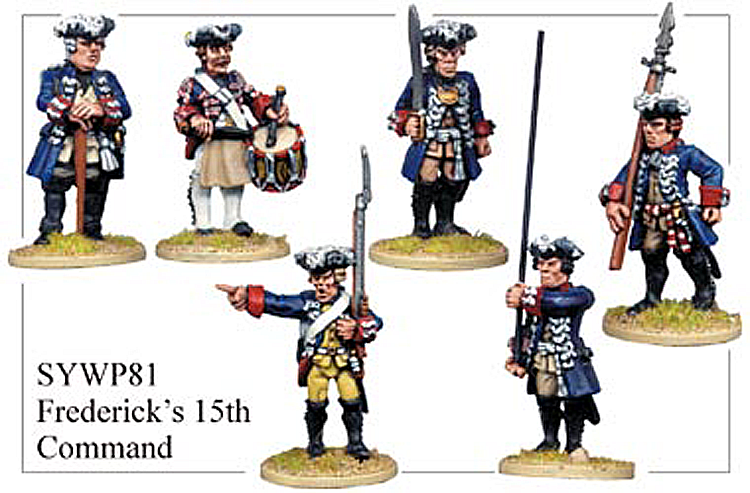 SYWP081 - Prussian Fredericks 15th Guard Regiment Command