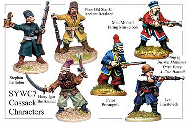 SYWC007 - Cossack Characters