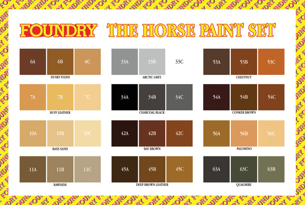 The Horse Paint Set