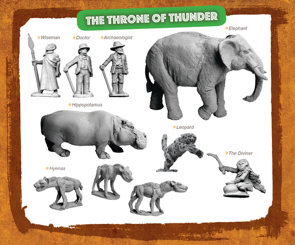 CONGO Box Set 10 - The Throne of Thunder NOW SHIPPING