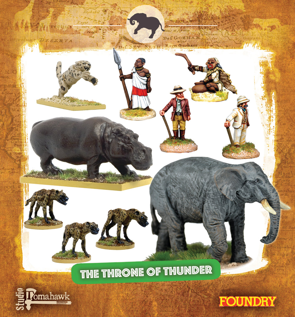 CONGO Box Set 10 - The Throne of Thunder