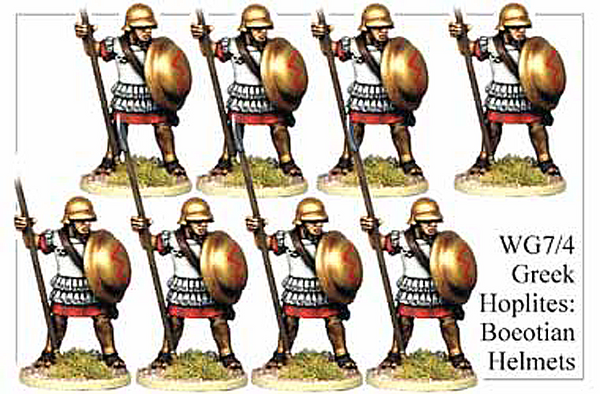 WG074 - Greek Hoplites in Boeotian Helmets