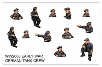 WW220006 - Early War German Tank Crew