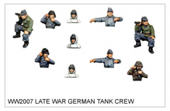 WW220007 - Late War German Tank Crew