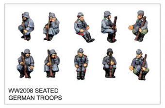 WW220008 - Seated German Troops