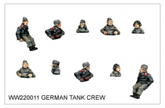 WW220011 - German Tank Crew