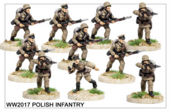 WW220017 - Polish Infantry