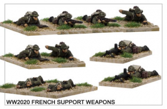 WW220020 - French Support Weapons