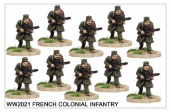 WW220021 - French Colonial Infantry