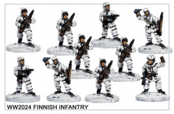 WW220024 - Finnish Infantry
