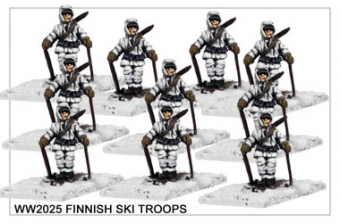 WW220025 - Finnish Ski Troops