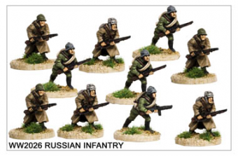 WW220026 - Russian Infantry