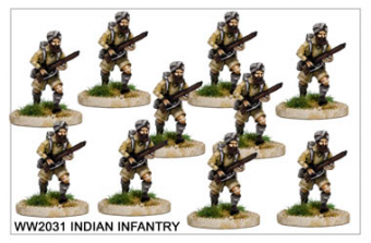 WW220031 - Indian Infantry