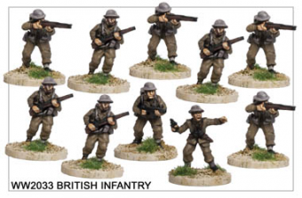 WW220033 - British Infantry