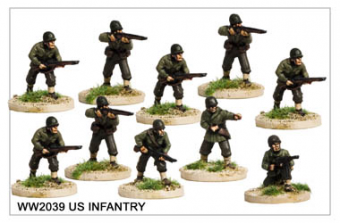WW220039 - US Infantry