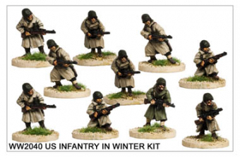 WW220040 - US Infantry in Winter Kit