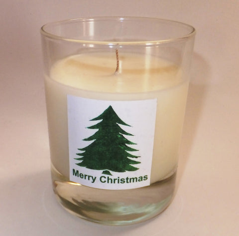 Christmas Tree candle (no border)