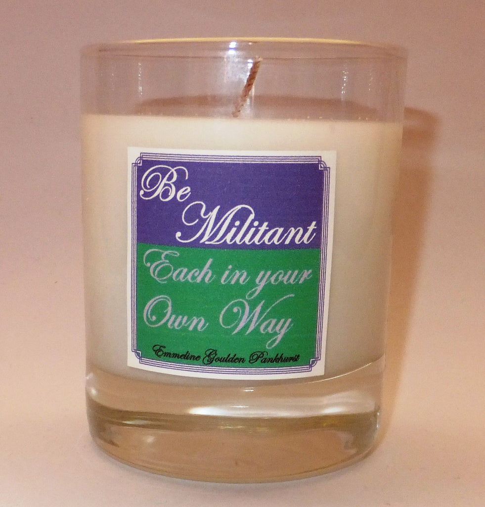 Be Militant candle
