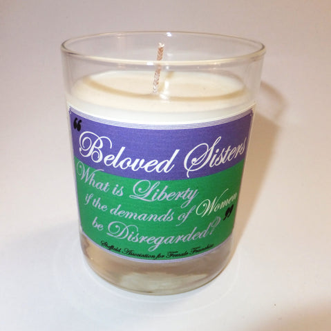 Beloved Sisters candle