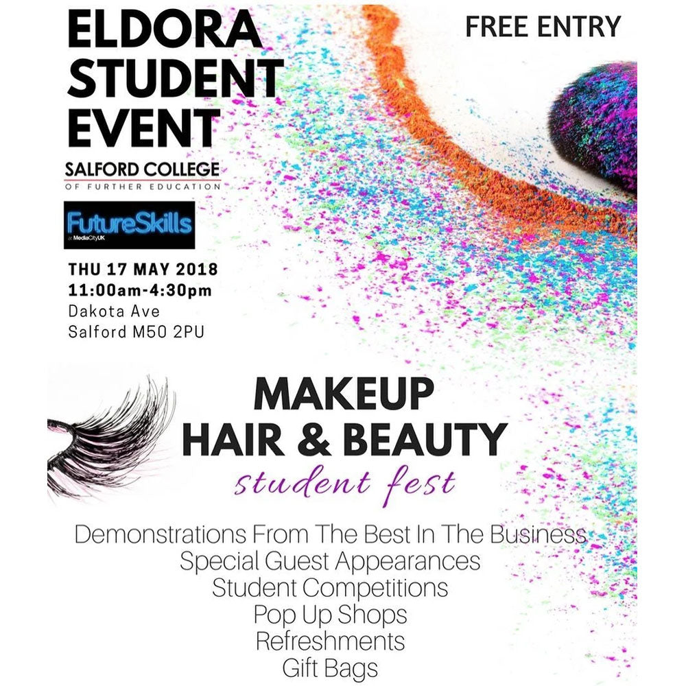 Eldora Lashes, PLouise Makeup Academy, Niré Beauty and Lots of Other Beauty Brands in Action