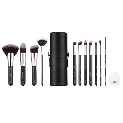 Niré Beauty Next Level Kabuki Brush Set (Silver Edition) - Niré Beauty