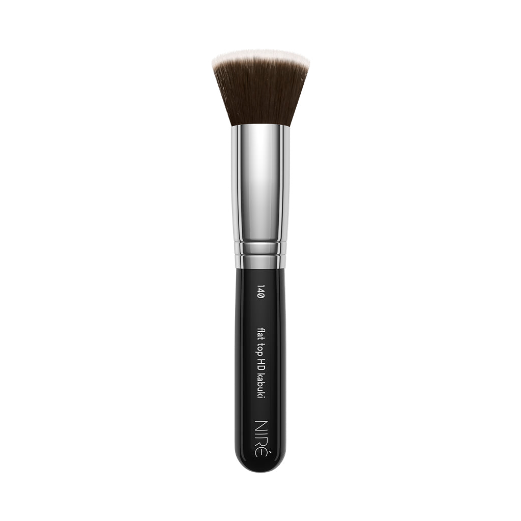140 Flat Top Kabuki Foundation Brush - Niré Beauty