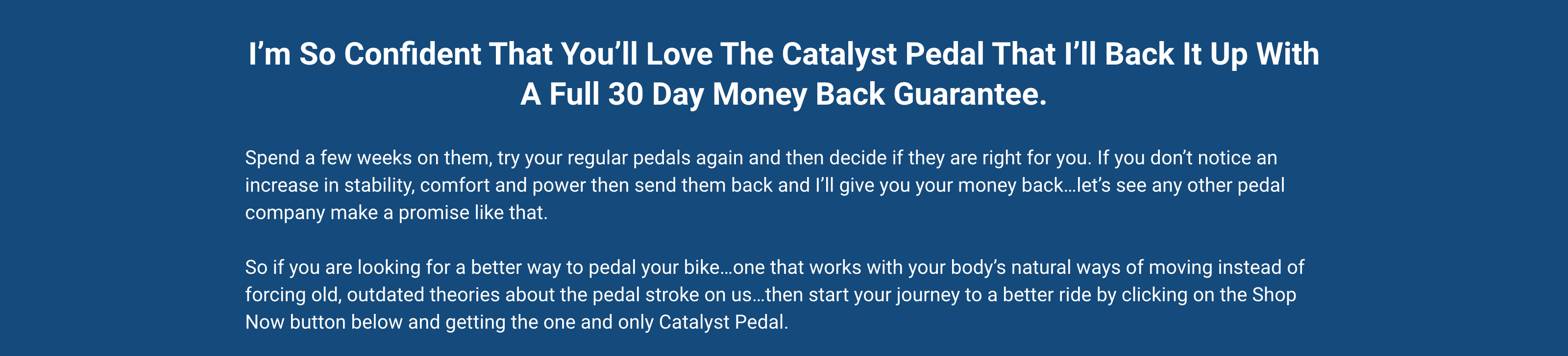 Buy Pedaling Innovations Catalyst, UK, Europe, France, Spain, Italy, Germany.