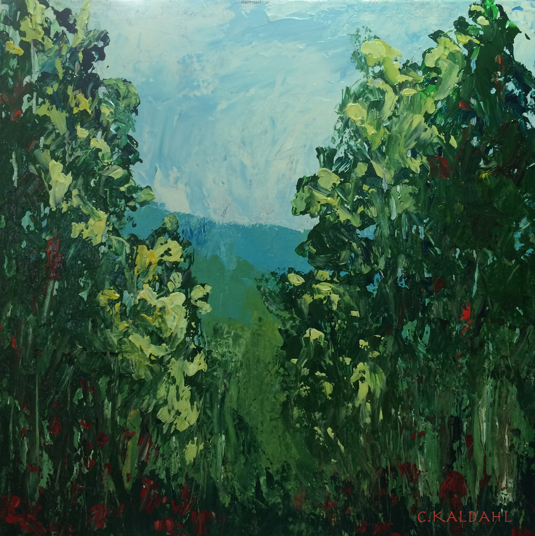 Elusive Meadow, acrylic painting by Cheryl Kaldahl