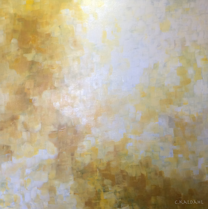 Radiant Energy, acrylic painting by Cheryl Kaldahl