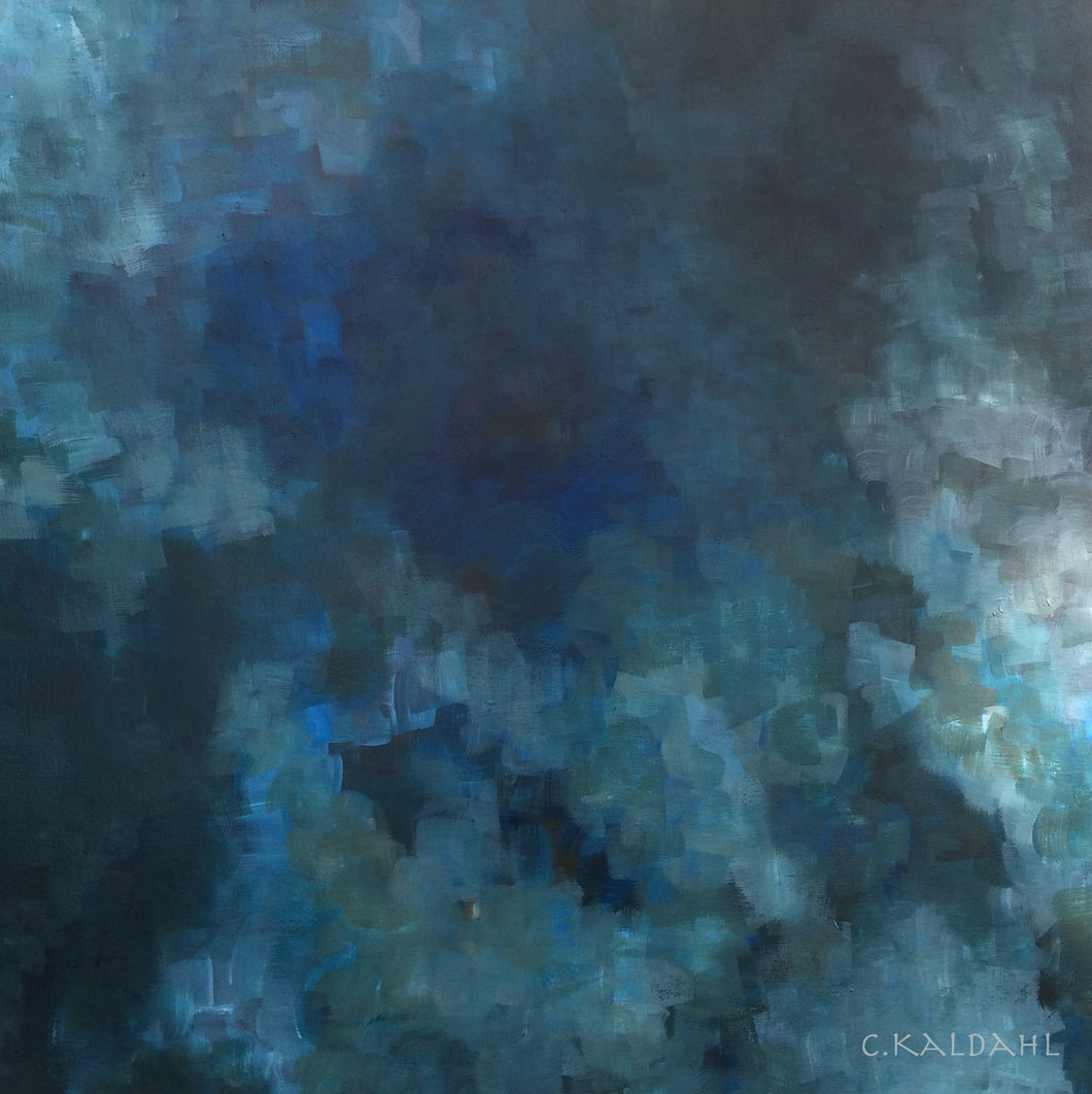 Inward Repose, acrylic painting by Cheryl Kaldahl