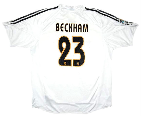 Real Madrid - Hjemmedrakt 2004-05 (XL) #23 Beckham