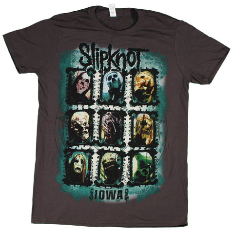Slipknot Color Grid T-Shirt