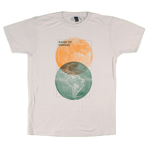 Band Of Horses Moon And Earth Slim Fit T-Shirt