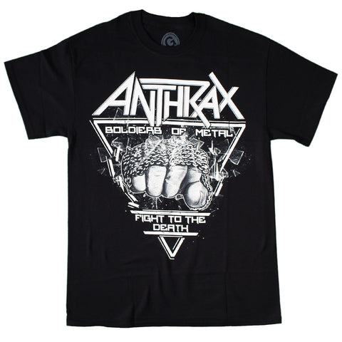 Anthrax Fistful of Metal T-Shirt