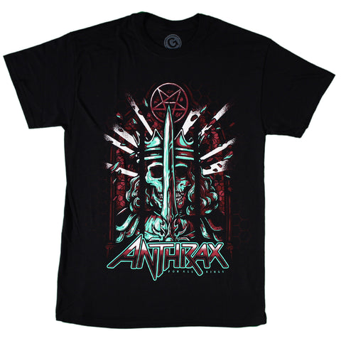 Anthrax For All Kings Poster T-Shirt