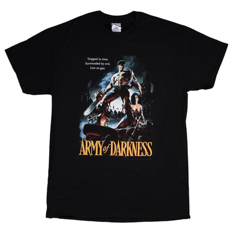 Army of Darkness Trapped In Time Poster T-Shirt
