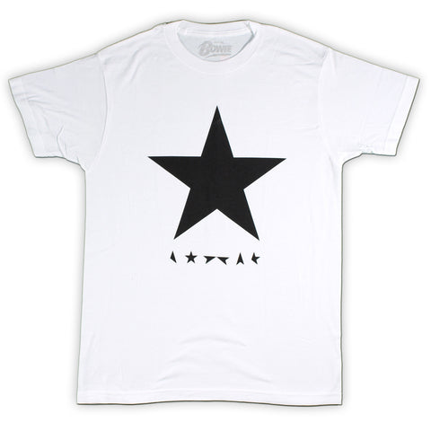 David Bowie Blackstar Slim Fit T-Shirt White